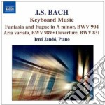 Bach J.S. - Fantasia Cromatica E Fuga Bwv 903, Bwv 904  Aria Variata Bwv 989 cd musicale di Johann Sebastian Bach