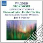 Sintesi sinfoniche su musiche di wagner cd musicale di Leopold Stokowsky