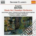 Musica per orchestra da camera cd musicale di Joaquim Homs