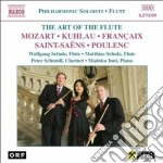 The art of the flute - philharmonic solo cd musicale di Wolfgang Amadeus Mozart