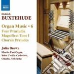 Opere per organo (integrale), vol.6 cd musicale di Dietrich Buxtehude