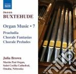 Opere per organo (integrale) vol.7 cd musicale di Dietrich Buxtehude