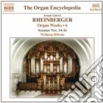 Opere per organo (integrale) vol.6 cd musicale di Rheinberger joseph g