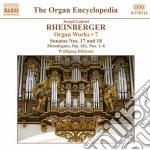 Opere per organo (integrale), vol.7 cd musicale di Rheinberger joseph g