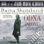 Odna (ricostruzione di m. fitz-gerald) cd musicale di Dmitri Sciostakovic