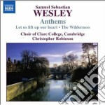Anthems cd musicale di Wesley samuel sebast