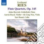 Quartetti con flauto op.145 (nn.1-3) cd musicale di Ferdinand Ries