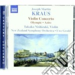 Concerto per violino vb 151, olympie (mu cd musicale di Kraus joseph martin
