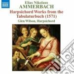Harpsichord words from the tabulaturbuch cd musicale di Ammerbach elias niko