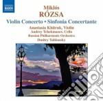 Concerto per violino, sinfonia concertan cd musicale di Miklos Rozsa