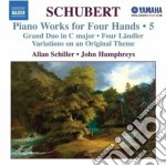 Opere per 2 pianoforti (integrale), vol. cd musicale di Franz Schubert