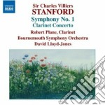 Sinfonia n.1, concerto per clarinetto op cd musicale di Stanford charles vil