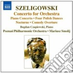 Concerto per orchestra, concerto per pia cd musicale di Tadeusz Szeligowski