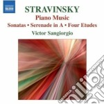 Musica per pianoforte solo cd musicale di Igor Stravinsky