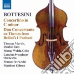 Concertino per contrabbasso in do minore cd musicale di Giovanni Bottesini