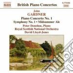 Concerto per pianoforte n.1, sinfonia n. cd musicale di John Gardner