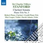 Stanford Charles Villiers - Sonata Per Clarinetto Op. 129  Fantasie Per Clarinetto E Archi, ... cd musicale di Stanford charles vil