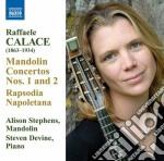 Raffaele Calace - Concerti Per Mandolino, Rapsodia Napoletana, Polonese, Danza Dei Nani cd musicale di Raffaele Calace