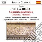 CONCIERTO PLATERESCO                      cd musicale di JesÚs Villa-rojo