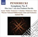 Sinfonia n.8, dies irae, aus des psalmen cd musicale di Krzysztof Penderecki