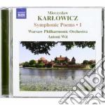 Karlowicz Mieczyslaw - Poemi Sinfonici,  Vol.1 cd musicale di Mieczyslaw Karlowicz