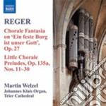 Musica per organo, vol.8 cd musicale di Max Reger