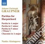 Partite per clavicembalo cd musicale di Christoph Graupner