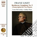 Opere per pianoforte (integrale) vol.28 cd musicale di Franz Liszt