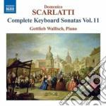Sonate per tastiera, vol.11 cd musicale di Domenico Scarlatti