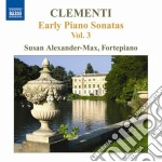 Early piano sonatas, vol.3; nn.29, 30 cd musicale di Muzio Clementi