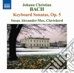 Sonate op.5 cd musicale di Johann Sebastian Bach