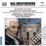 Concerto per corno n.1 hob.viid:3, conce cd musicale di Haydn franz joseph