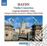 Haydn Franz Joseph - Concerto Per Violino N.1, N.2, N.3 Hob Viia cd musicale di Haydn franz joseph