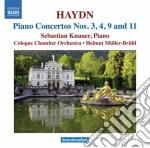 Concerto per pianoforte n.3, n.4, n.9, n cd musicale di Haydn franz joseph