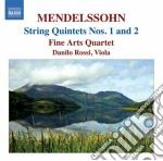Mendelssohn Felix - Quintetti Per Archi cd musicale di Felix Mendelssohn