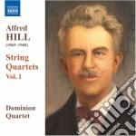 Hill Alfred - Quartetti Per Archi, Vol.1: Nn.1-3 cd musicale di Alfred Hill