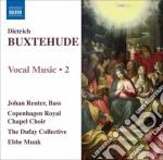 Musica vocale (integrale), vol.2 cd musicale di Dietrich Buxtehude