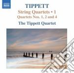 Quartetti per archi, vol.1: nn.1, 2, 4 cd musicale di Michael Tippett