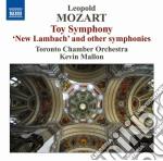 Sinfonie cd musicale di Leopold Mozart