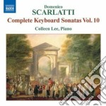 Sonate per tastiera, vol.10 cd musicale di Domenico Scarlatti