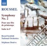Sinfonia n.2, suite in fa, pour un f????te cd musicale di Albert Roussel