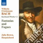Opere per tastiera (integrale), vol.2 cd musicale di Bach wilhelm friedma