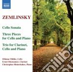Trio per clarinetto, violoncello e piano cd musicale di Alexander Zemlinsky