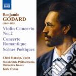 Concerti per violino, sc????nes poetiques o cd musicale di Benjamin Godard