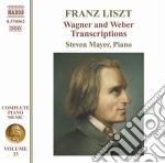 Opere per pianoforte (integrale), vol.33 cd musicale di Franz Liszt