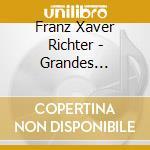 GRANDES SYMPHONIES NN.7-12                cd musicale di RICHTER FRANZ XAVIER