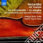 BRANI NELL'ARRANGIAMENTO DI KREISLER      cd musicale di Niccolo' Paganini