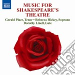 Music for shakespeare's theatre cd musicale di Miscellanee