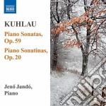 Sonate per pianoforte: nn.1-3 op.20, nn. cd musicale di Friedrich Kuhlau
