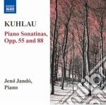 Sonatine per pianoforte opp.55, 88 cd musicale di Friedrich Kuhlau